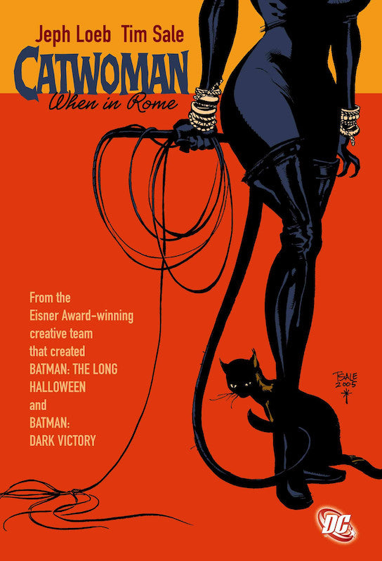 CATWOMAN WHEN IN ROME TRADE PAPERBACK (LOEB AND SALE)
