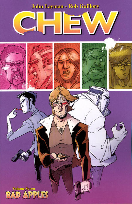 CHEW TRADE PAPERBACK VOLUME 07 BAD APPLES