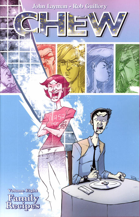 CHEW TRADE PAPERBACK VOLUME 08 FAMILY RECIPES