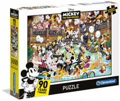 Clementoni Puzzle - Disney Mickeys 90th Anniversary 1000 Pieces