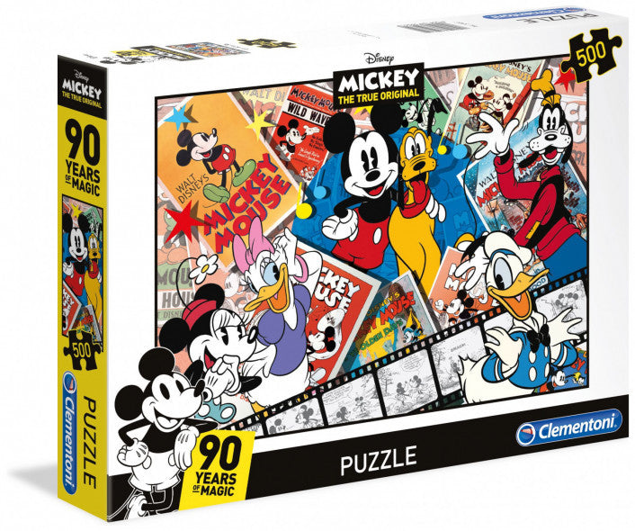 Clementoni Disney Puzzle - Mickey's 90th Anniversary (500 Pieces)