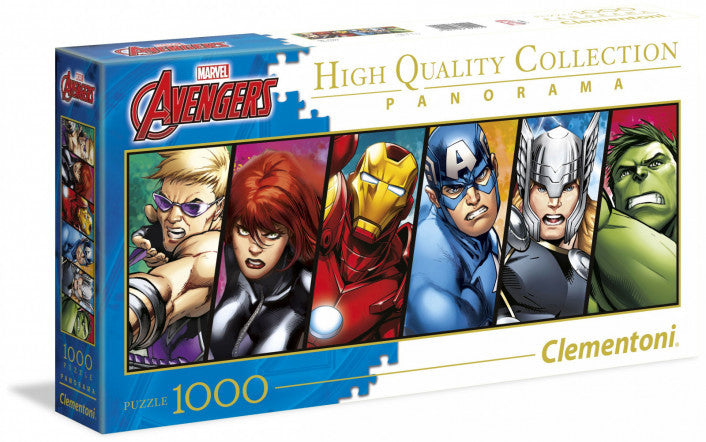 Clementoni Puzzle - Marvel The Avengers 1000 Pieces (Panorama)