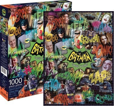 DC Batman Puzzle Classic TV Show 1000 pieces