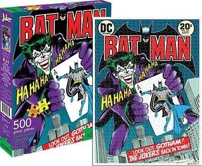 The Joker Puzzle (Laughing with Batman, 500 pieces)