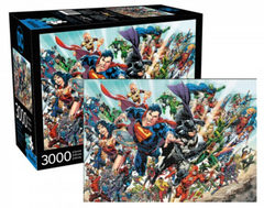 DC Comics Puzzle - Modern Hero Cast (3000 Pieces)