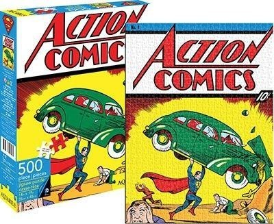 DC Superman Puzzle - 500 Pieces Action Comics 1