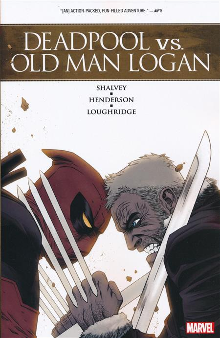 DEADPOOL VS OLD MAN LOGAN TRADE PAPERBACK