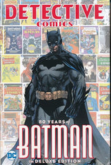 DETECTIVE COMICS: 80 YEARS OF BATMAN DELUXE HARDCOVER