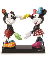 Mickey and Minnie Heart Shape Hands - Disney by Britto Figure