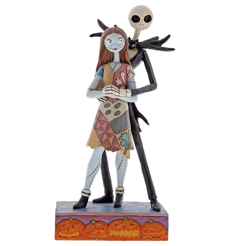 Jim Shore - Nightmare Before Christmas: Jack & Sally 'Fated Romance' (Disney Traditions Figurine)