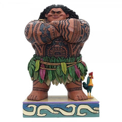 Jim Shore - Moana: Maui 'Daring Demigod' 21cm (Disney Traditions Figurine)