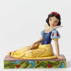 Jim Shore - Snow White Personality Pose 'Be A Dreamer' (Disney Traditions Figurine)