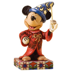 Jim Shore - Sorcerer Mickey 'Touch of Magic' 11cm (Disney Traditions Figurine)
