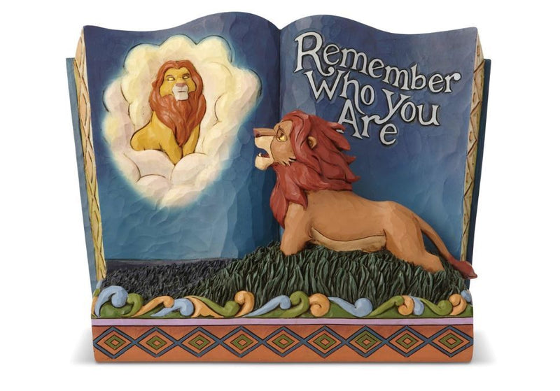 Jim Shore - The Lion King Storybook (Disney Traditions Figurine)