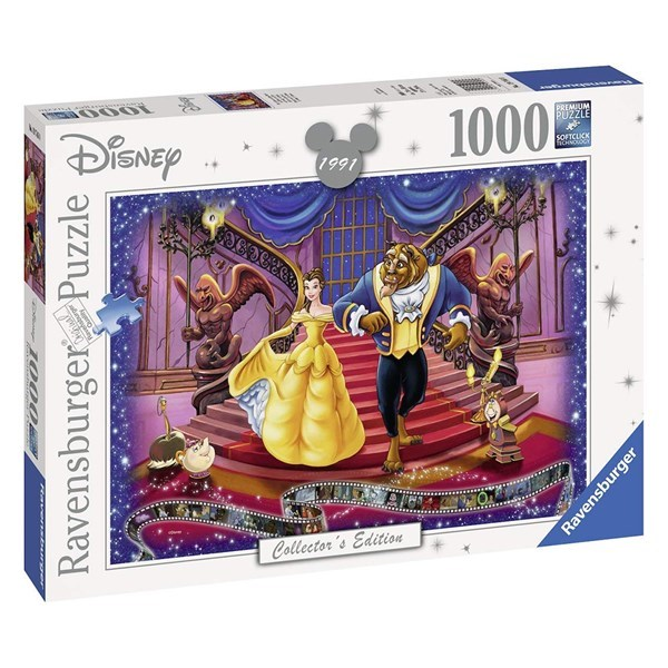 Ravensburger Puzzle - Disney Moments Beauty and the Beast 1991 (1000 piece)