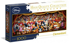 Disney Puzzle - Orchestra Cast of Characters (Clemtoni, 1000 Pieces)