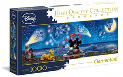 Clementoni Puzzle - Disney Mickey and Minnie Panorama (1000 Pieces)