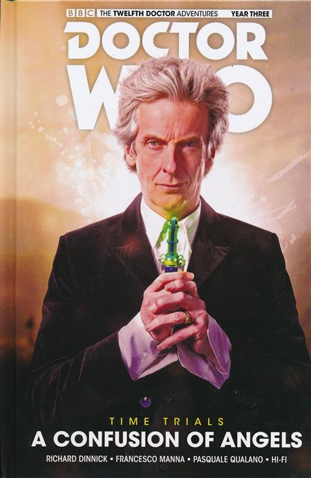 DOCTOR WHO 12TH TIME TRIALS HARDCOVER VOLUME 03 CONFUSION OF ANGELS