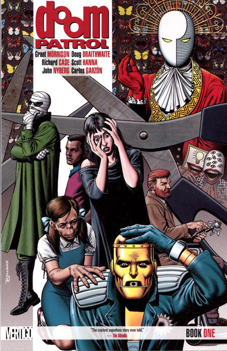 DOOM PATROL BOOK 1 BY GRANT MORRISON (DOUBLE)