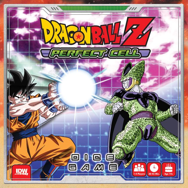 Dragon Ball Z - Perfect Cell Board Game