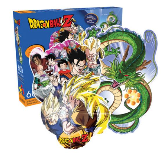 Dragon Ball Z Puzzle - Double Sided (600 Piece)