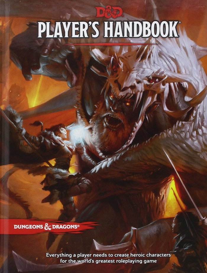 Dungeons and Dragons Players Handbook (Official)