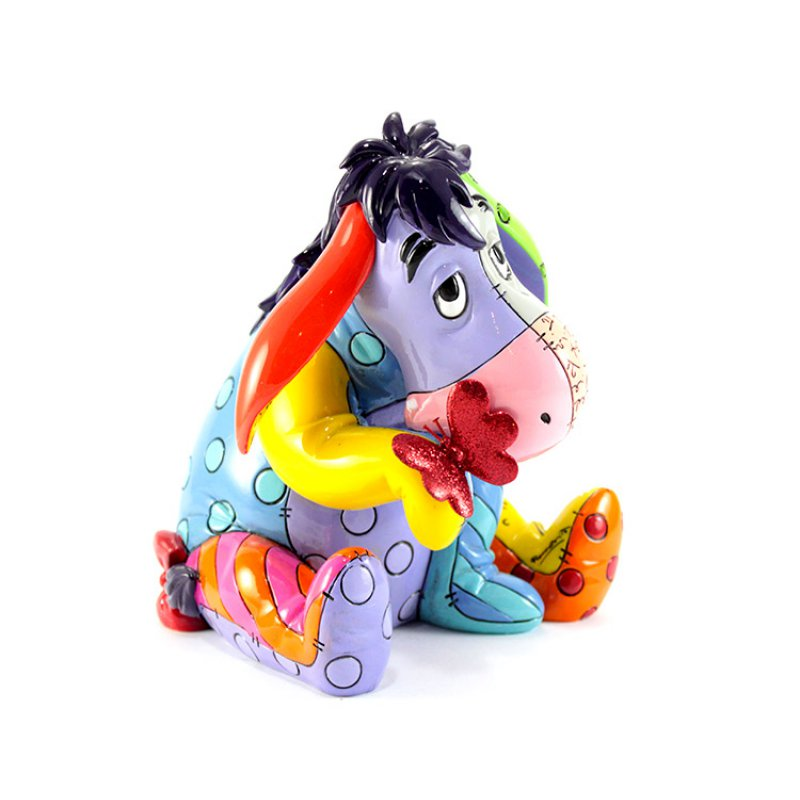 Eeyore Figurine (Large with Butterfly) - Disney by Britto
