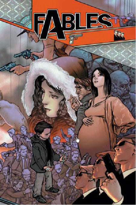 FABLES TRADE PAPERBACK VOLUME 04 MARCH OF THE WOODEN SOLDIERS