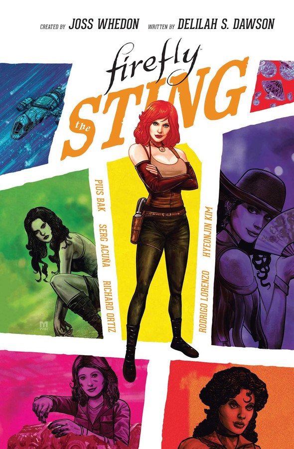 FIREFLY GRAPHIC NOVEL COLELCTION - STING (2019) HARDCOVER