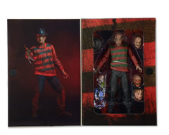 Freddy Krueger Action Figure 7 Inch Scale Ultimate 30th Anniversary by NECA