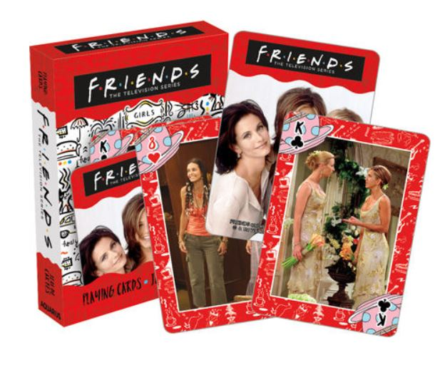 Friends TV Show Playing Cards - Girls