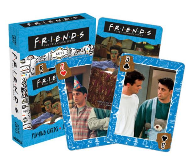 Friends TV Show Playing Cards - Guys