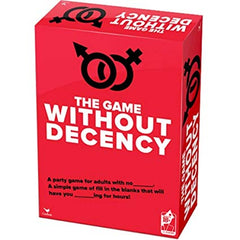 Game Without Decency - A Party Game for Adults