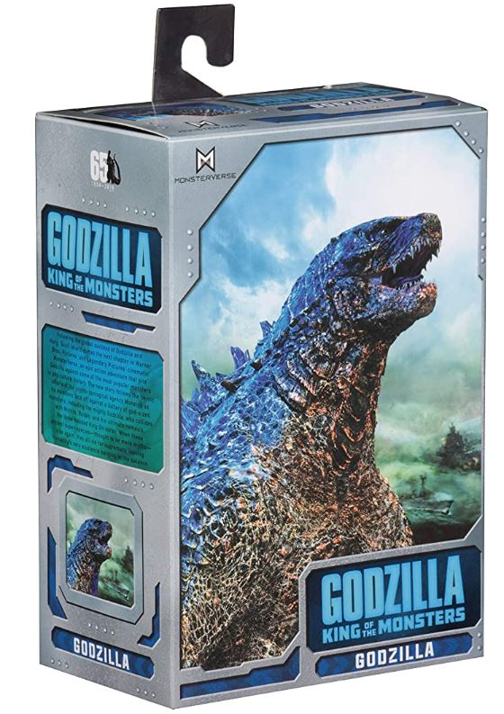 Godzilla Action Figure - 2019 King of the Monsters 12 Inch Head-to-Tail by NECA