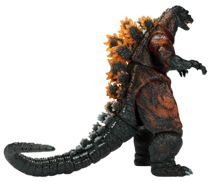 Godzilla Action Figure (Burning, 1995 - 65th Anniversary) 12 Inch Head to Tail by NECA