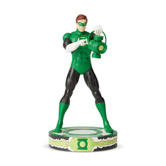 Green Lantern Statue by Jim Shore (Classic Silver Age - Carved Style)