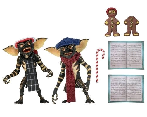 Gremlins - Christmas Winter Scene 2-Pack (Version 1) Action Figure 7 Inch Scale by NECA