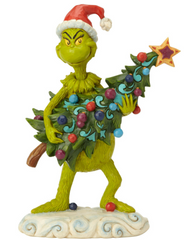 The Grinch Christmas Figurine (Jim Shore) - Stealing Tree