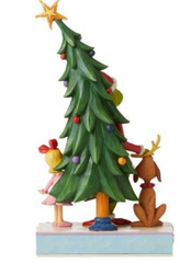 The Grinch Christmas Figurine (Jim Shore) - Christmas With Cindy and Max