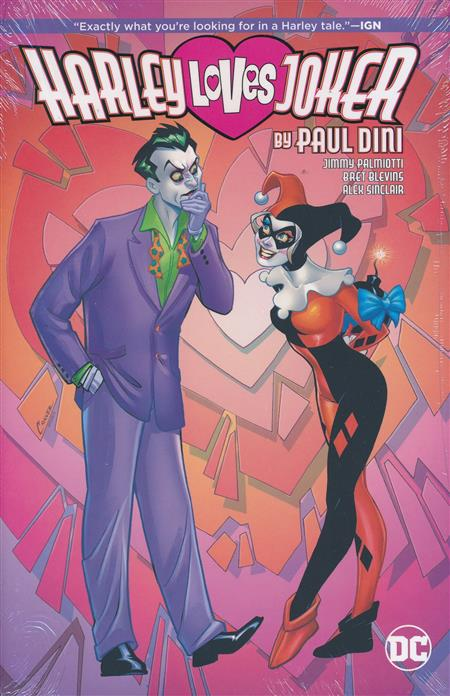 HARLEY LOVES JOKER BY PAUL DINI (HARDCOVER)