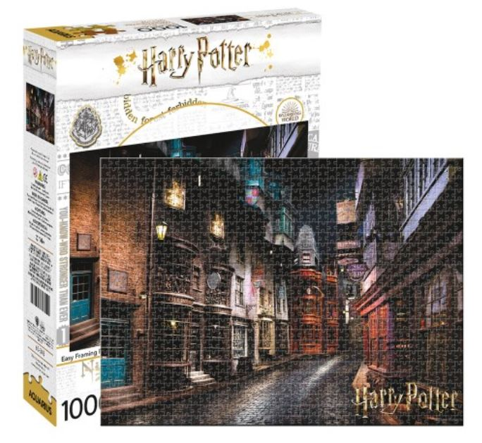 Harry Potter Puzzle - Diagon Alley (1000 Pieces)