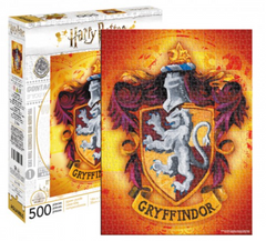 Harry Potter Puzzle - Gryffindor House Crest (500 Pieces)