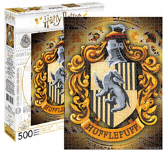 Harry Potter Puzzle - Hufflepuff House Crest (500 Pieces)