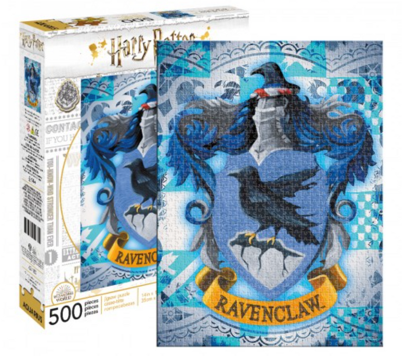 Harry Potter Puzzle - Ravenclaw House Crest (500 Pieces)