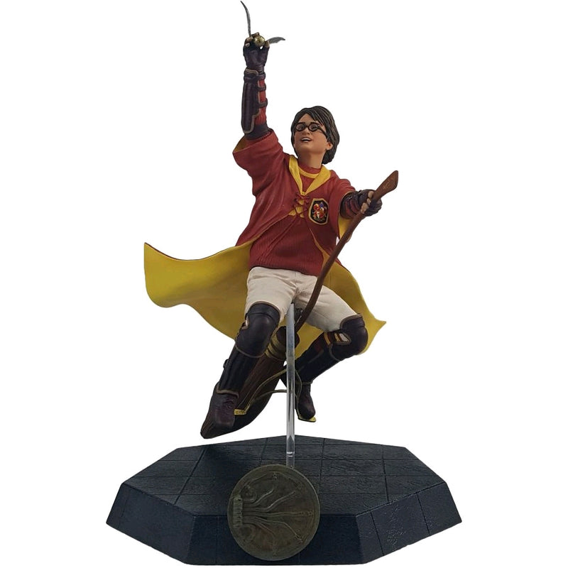 Harry Potter Statue - Harry Playing Quidditch (18cm PVC by Icon Heroes)