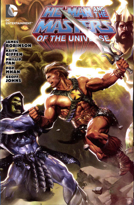 HE MAN AND THE MASTERS OF THE UNIVERSE TRADE PAPERBACK VOLUME 01