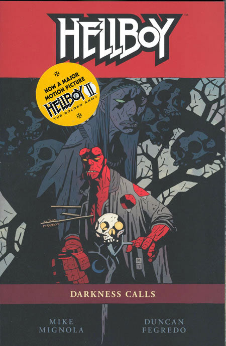 HELLBOY TRADE PAPERBACK VOLUME 08 DARKNESS CALLS