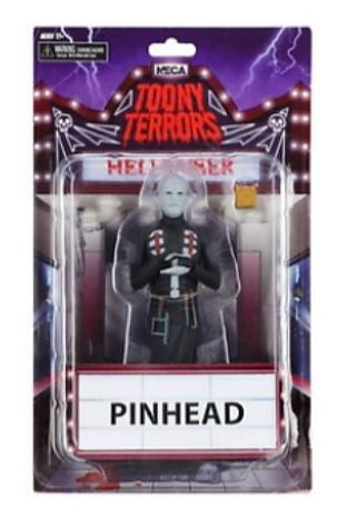 Toony Terrors - Hellraiser Pinhead 6 Inch Action Figure by NECA