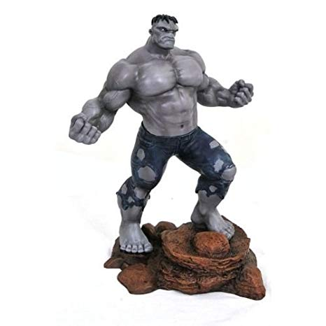 Limited Edition Grey Hulk Statue - 28cm PVC Marvel Gallery from San Diego Comic Con 2018
