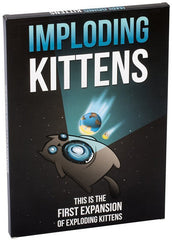 Imploding Kittens (Exploding Kittens Expansion) (CANNOT BE SOLD ON  ONLINE MARKETPLACES)